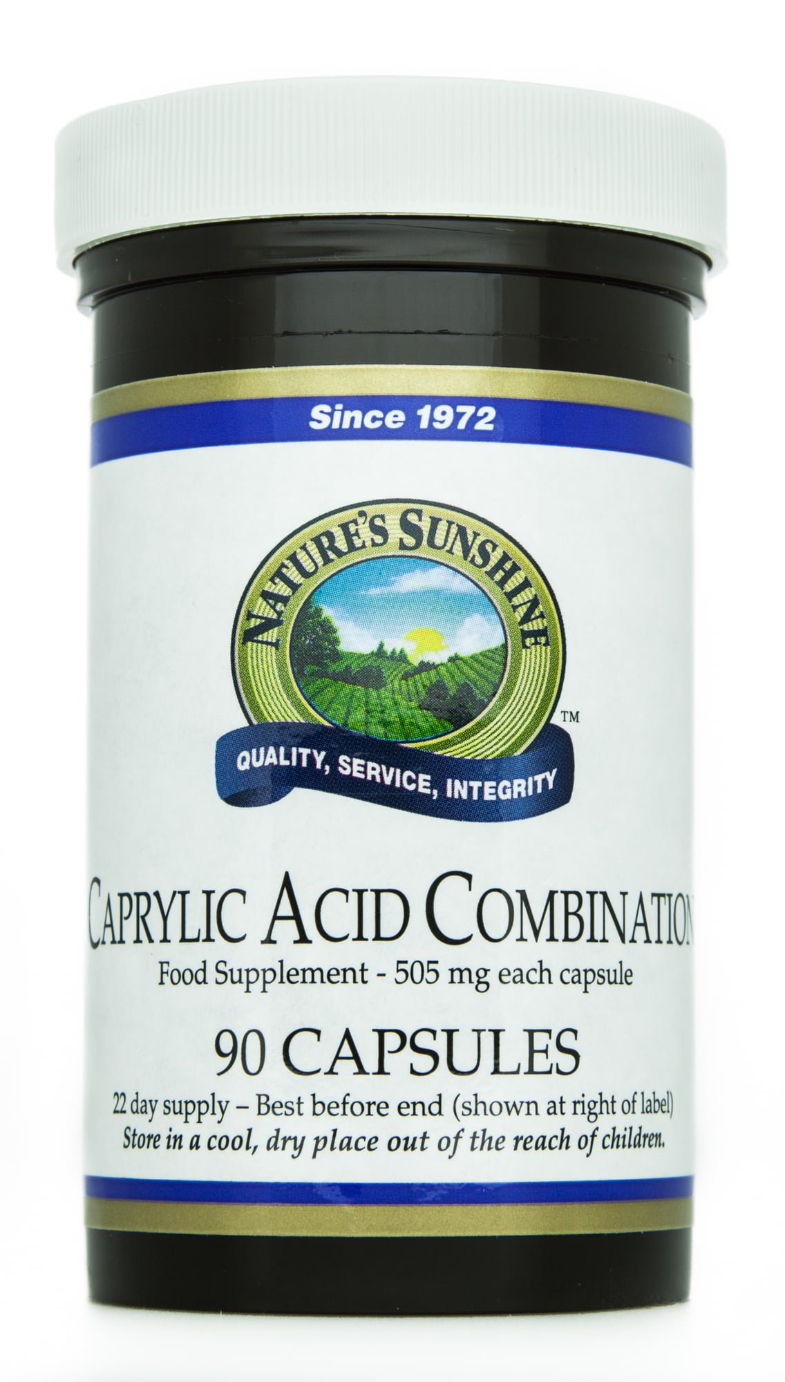 Caprylic Acid Combination Product Available For Candida